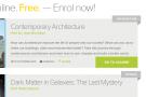 Free online courses -- Kursus online gratis