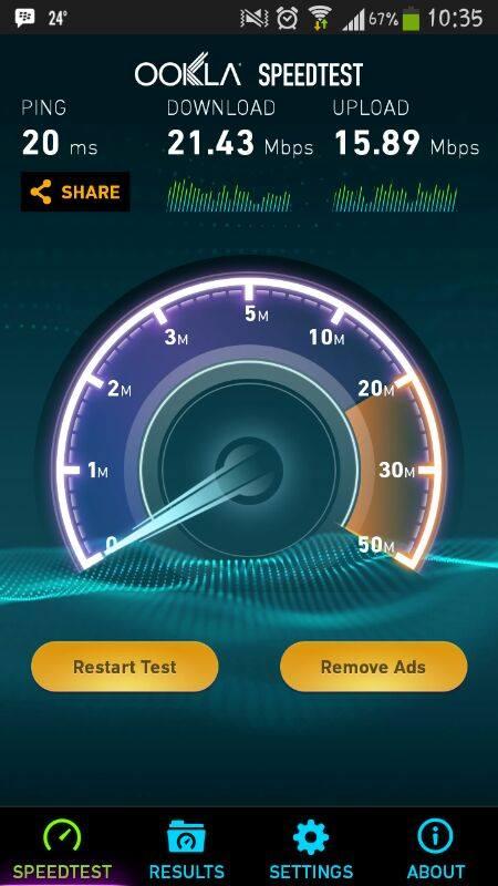 speedtest indosat super internet depok